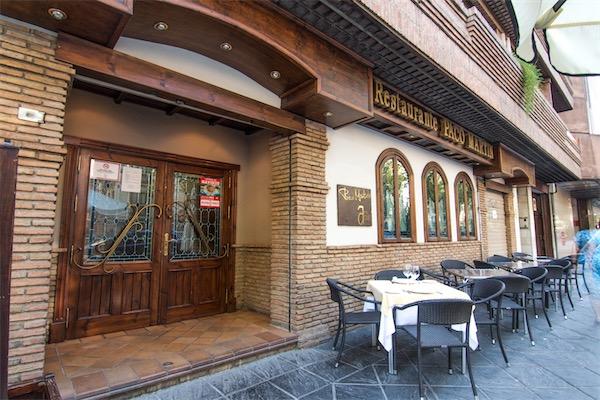 restaurante paco martin en el centro de granada eventos